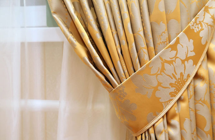 dust-free curtain