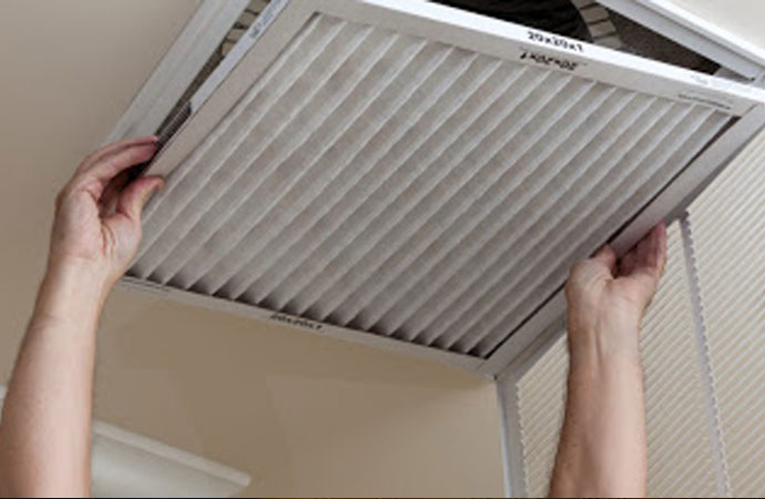 cleaned air ducts
