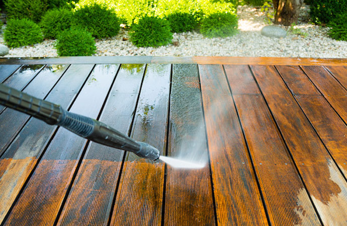 Wipe Away Winter with Pressure Washing