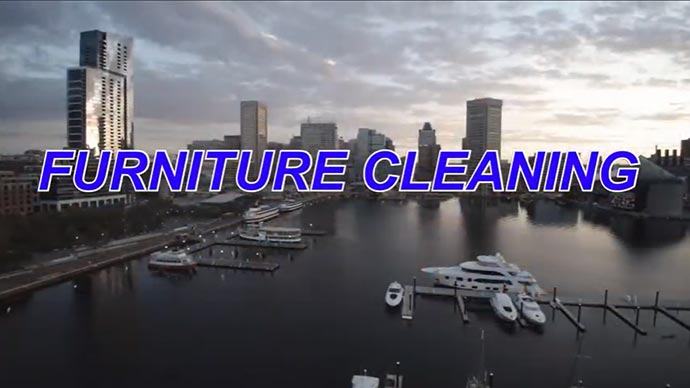 Furniture Cleaning Video Thumb