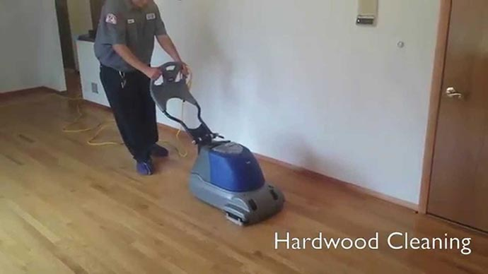 Hardwood Cleaning Video Thumb