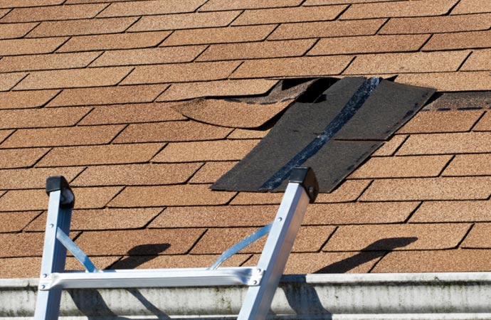 weather events that can damage your roof in Maryland