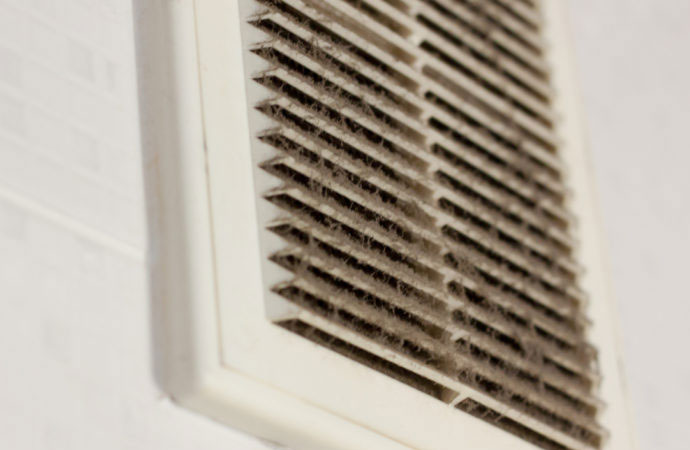 Breathing Problems Could Be From a Dirty Air Duct