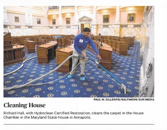 Hydro-Clean featured in Baltimore Sun Media